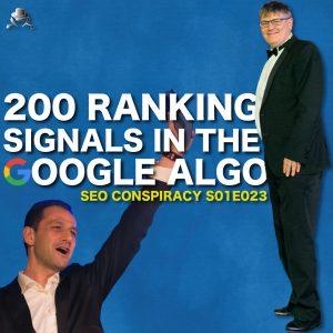 google 200 ranking signals